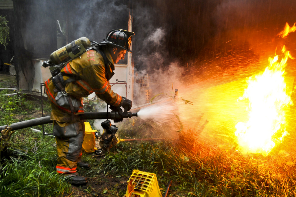 Extinguishing a Fire