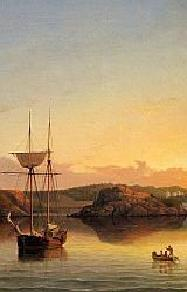 Fitz Hugh Lane Painting of a Boat