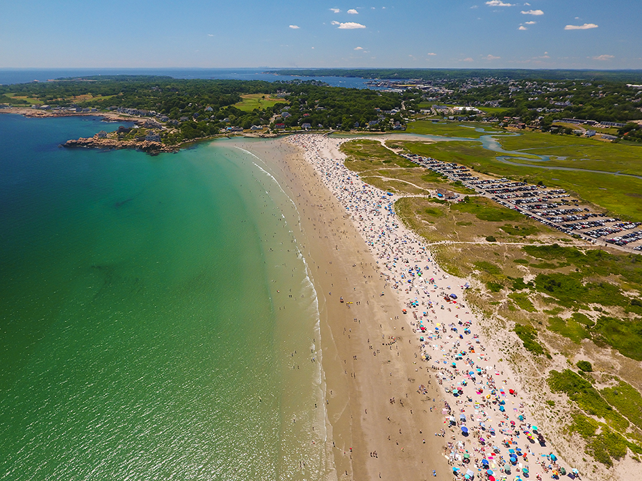 Gloucester Beaches Aerial Jpg